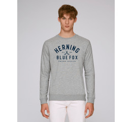 Sweatshirt - lysegrå meleret